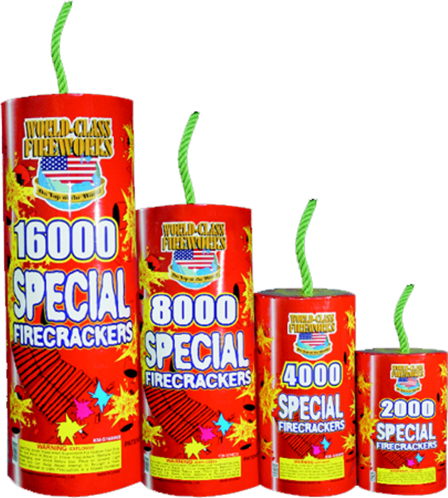 16,000 Special Firecrackers
