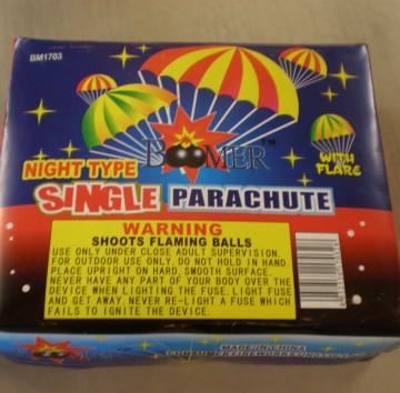 Boomer Single Night Parachute
