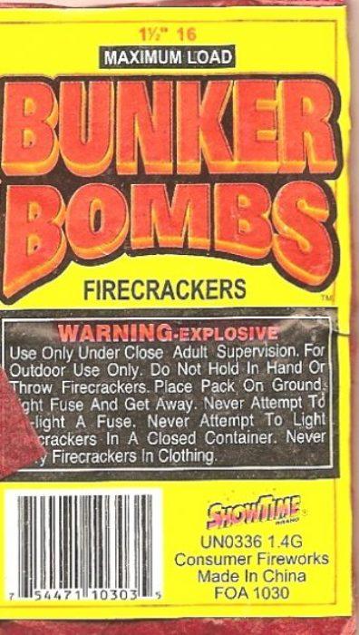 Bunker Bomb 80/16