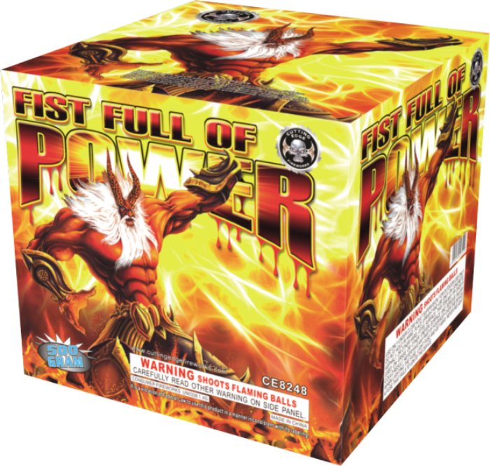 Fist Full Of Power | Cutting Edge Fist Full Of Power | 500 Gram Aerial  Repeaters | sku- 8145270153505
