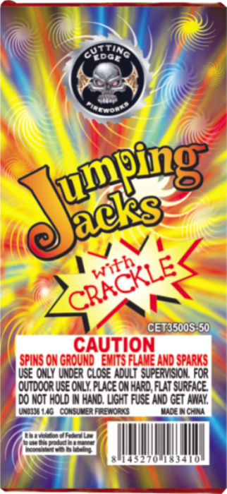 Jumping Jacks With Crackle 48/12