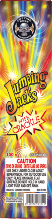 Jumping Jacks With Crackle 6/100