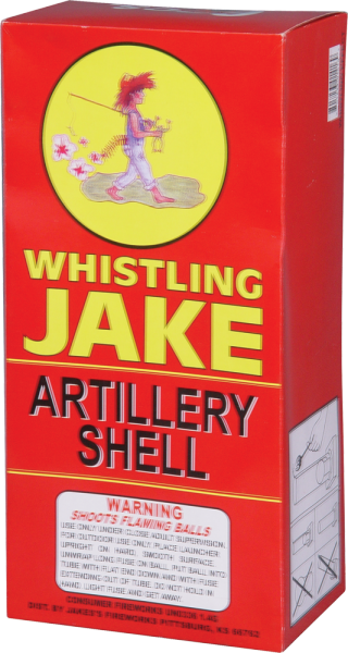 Whistling Jake Artillery Shells