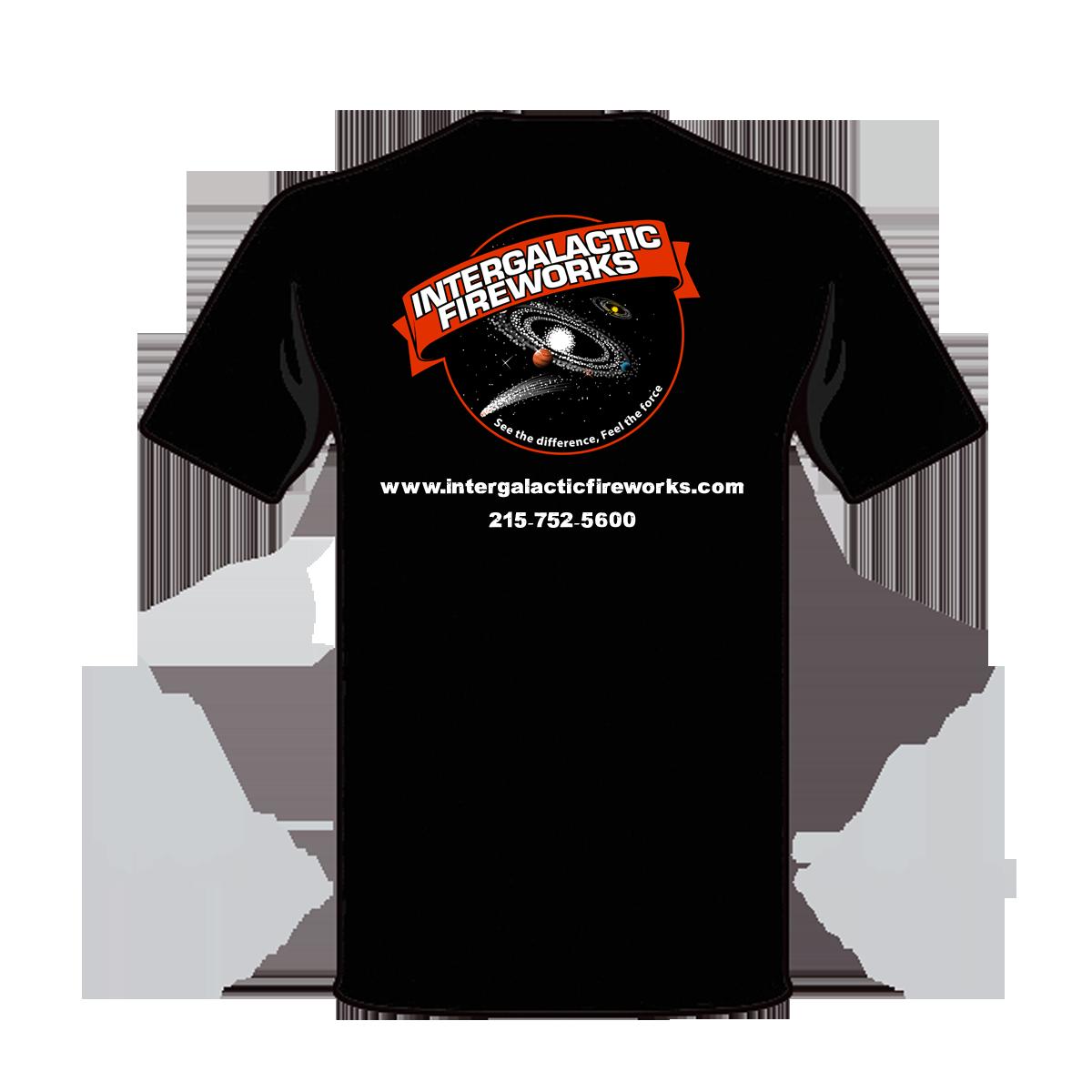Intergalactic Shirt Black