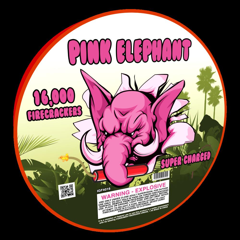 Pink Elephant 16,000