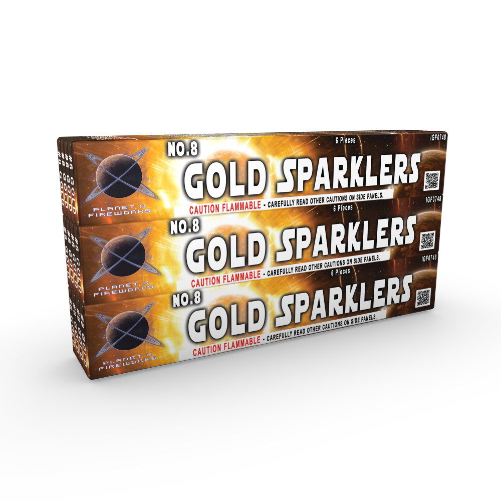 8_Inch_Gold_Sparklers_Novelties_Planet_X_