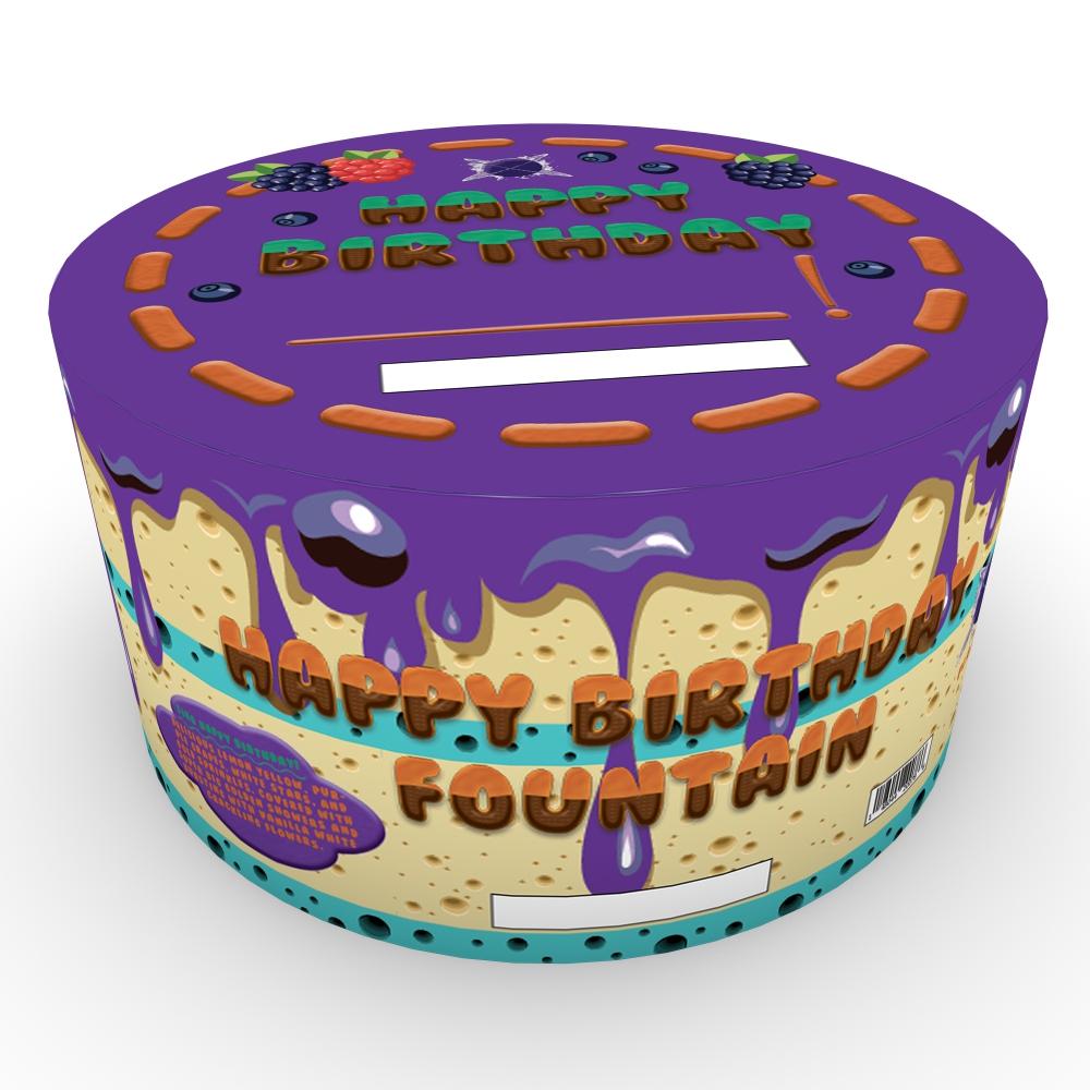 Birthday Cake Fountain