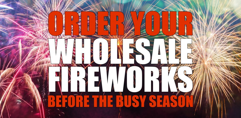 Order Wholesale Fireworks Before the Busy Season  | Intergalactic
