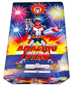 Magnus Fireworks  2014Amazing Pyro 500 Gram Aerial Finales