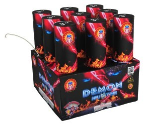 2014 Magnus Fireworks Demon Hunter Aerial Tubes / Final Racks