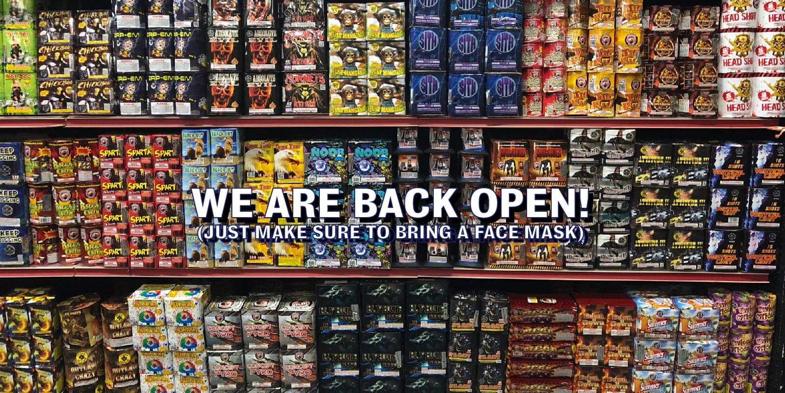 Intergalactic Fireworks is Now Back Open in PA and NJ Due to Being Shut From Corona, Covid-19